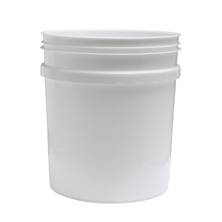 4 1/4 Gallon Pail Round White