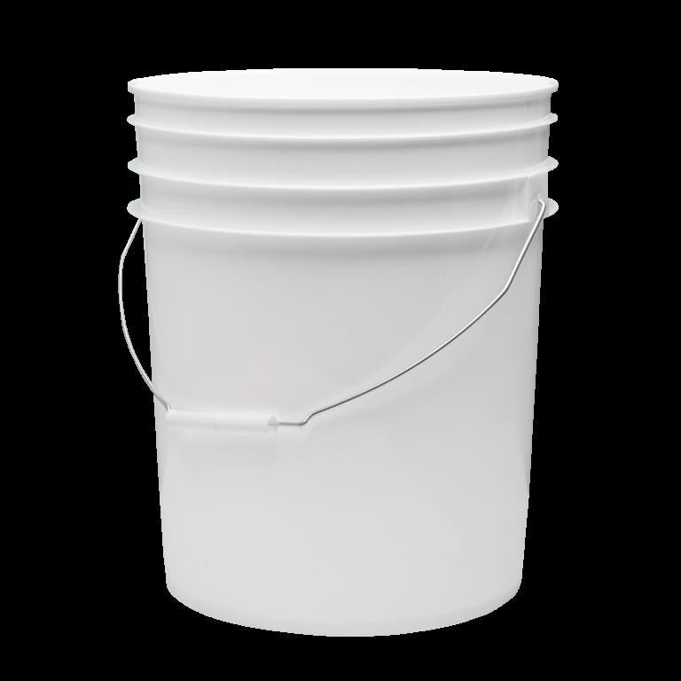 20 Liter Round Plastic Pail