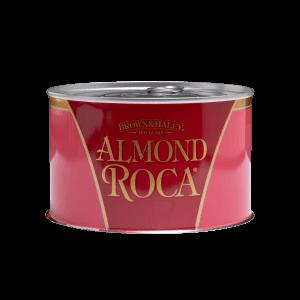 502-1 printed metal can Almond Roca